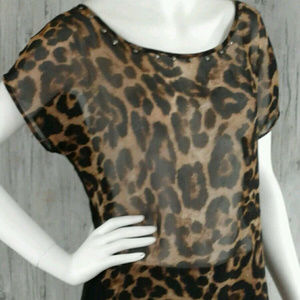 Miss Me Womens Short Sleeve Top Size S